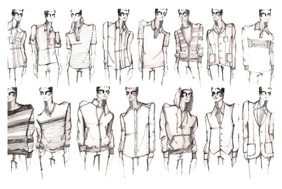 Male Fashion Design