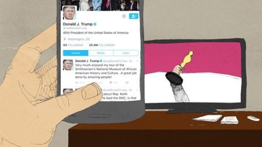 Trump Tweet Story
