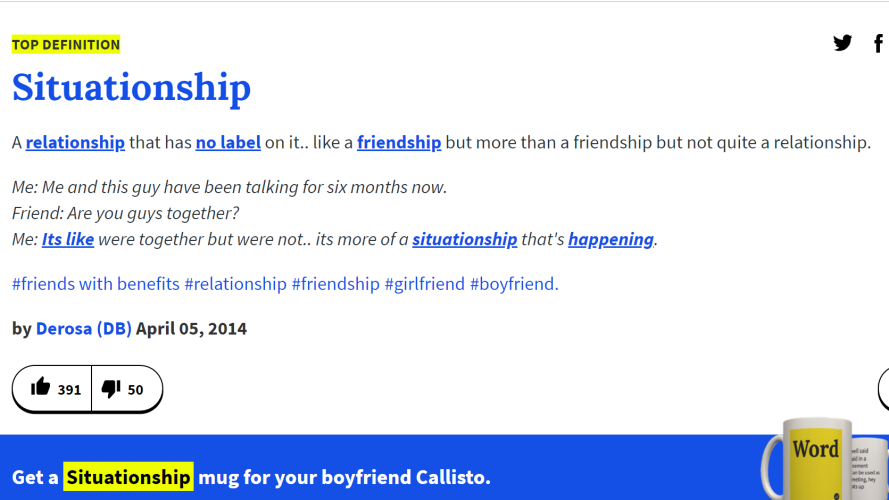 urban dictionary online dating