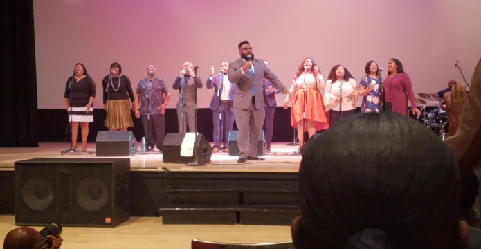 Image of Jason Powell and Adoration gospel group